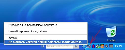 Windows xp csatlakozik az internethez